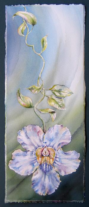 Dangling painting