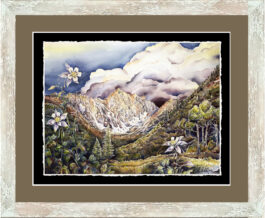giclee framed_Tuscan White and sienna