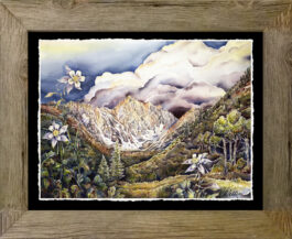 giclee framed_barnwood_no cut mat
