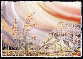 Mt. Garfield painting
