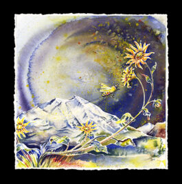 Wild Mountain Honey Painting