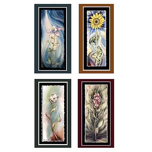 Flower Greeting Card Pack