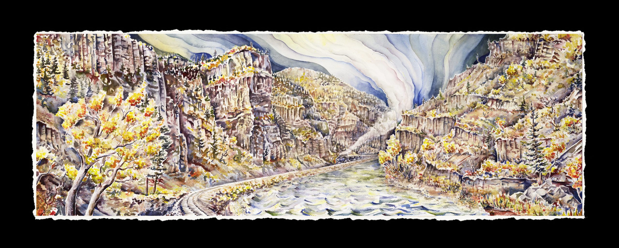 Glenwood Canyon at 1900