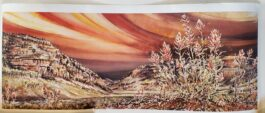 """""""Fire on the Mountain"""" Artist Proof Giclee Print"""