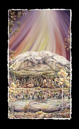 HEAVENLY #2 (Buffalo Mt Triptych)