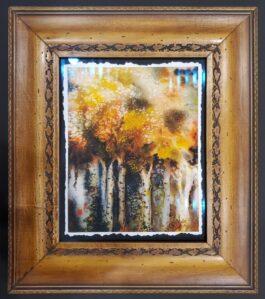 DREAMY giclee framed to 13″ X 15
