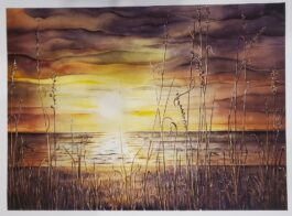 Evening Song giclee 12″ X 17″